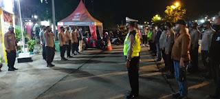 Tim Siaga Mako Regu II Polres Pelabuhan Makassar lakukan Apel, Persiapan Patroli Cipkon Malam Minggu