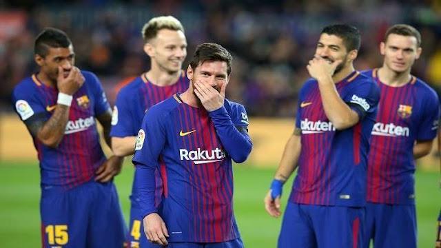 برشلونة يعلن خوض تدريباته الجمعة رغم إيقاف الدوري الإسباني