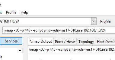 Nmap Output To Csv File