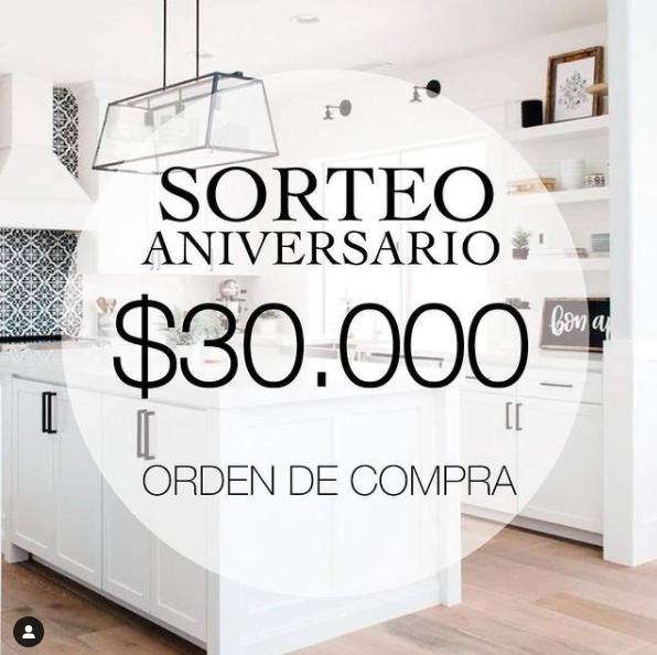 Sorteo de Romi Amoblamientos en Instagram