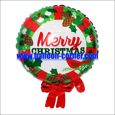 Balon Foil Garland MERRY CHRISTMAS