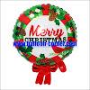 Balon Foil Garland MERRY CHRISTMAS