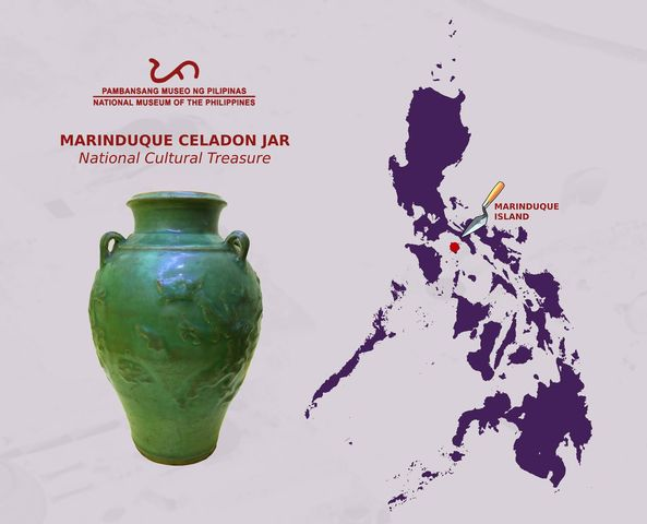 The Marinduque Celadon Jar - National Cultural Treasure [Philippines]
