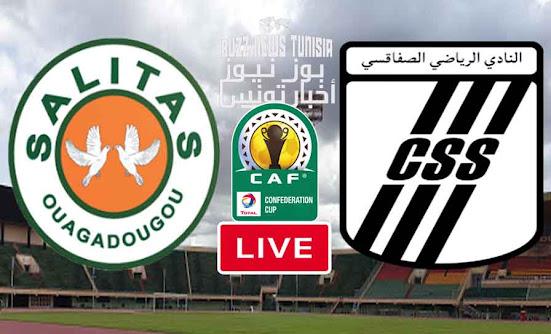 Live Match Salitas vs CS Sfaxien