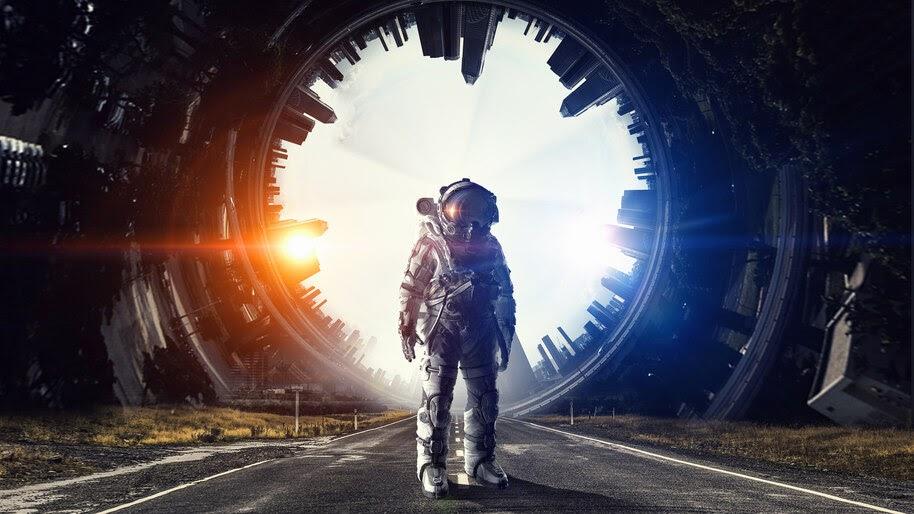 Astronaut, 4K, #4.34