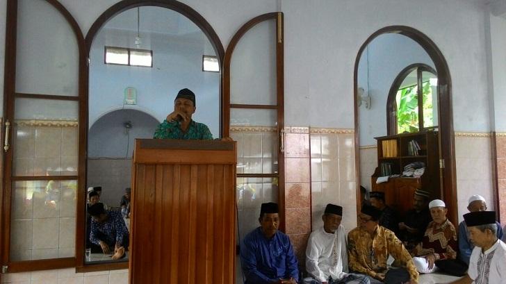 """Ketua PC Muhammadiyah """"Berulah"""" didepan Jamaah Jum'ah"""