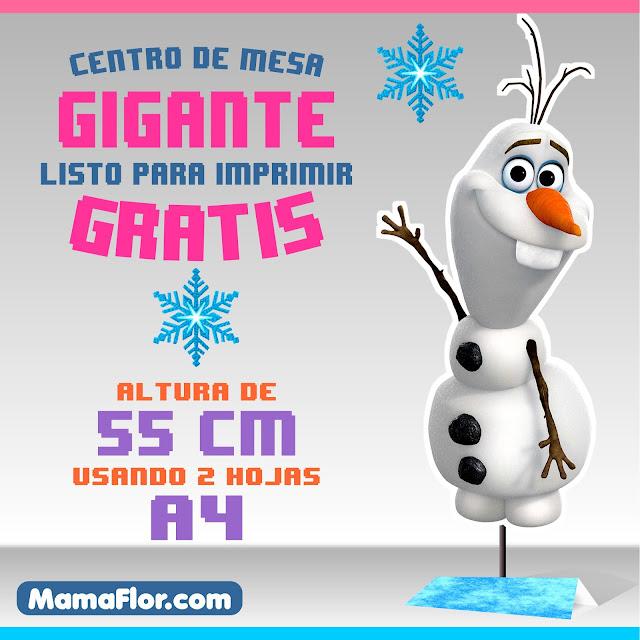 OLAF Centro de Mesa para imprimir