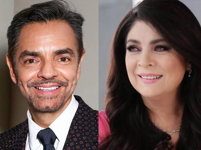 Eugenio Derbez se dice dispuesto a aconsejar a su ex la actriz Victoria Ruffo sobre comedia