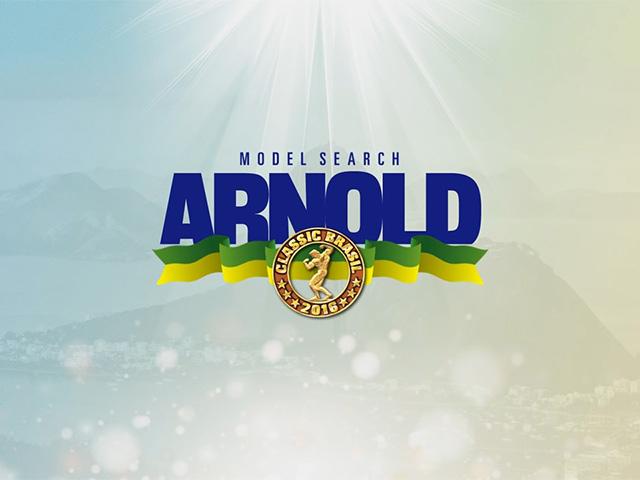 Arnold Model Search 2016. Foto: Reprodução