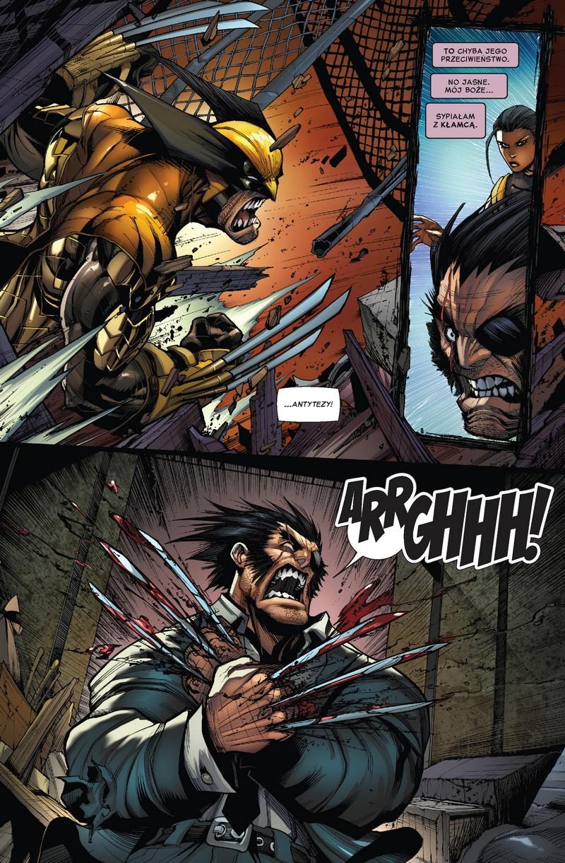 Wolverine: Trzy miesiące do śmierci tom 1 przykładowa strona