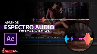 como crear espectro de audio