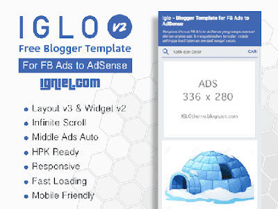 Template Blogger Gratis IGLO by Igniel