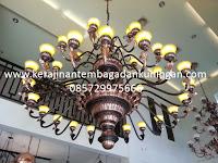Lampu Gantung Robyong Tembaga | Spesialis Lampu Tembaga dan Kuningan