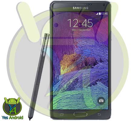 Update Galaxy Note 4 SM-N910V N910VVRU2CPD1 Android 6.0.1