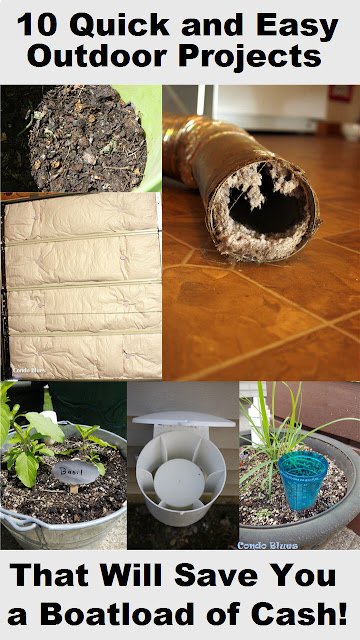 10 outdoor projects you aren't doing to save money