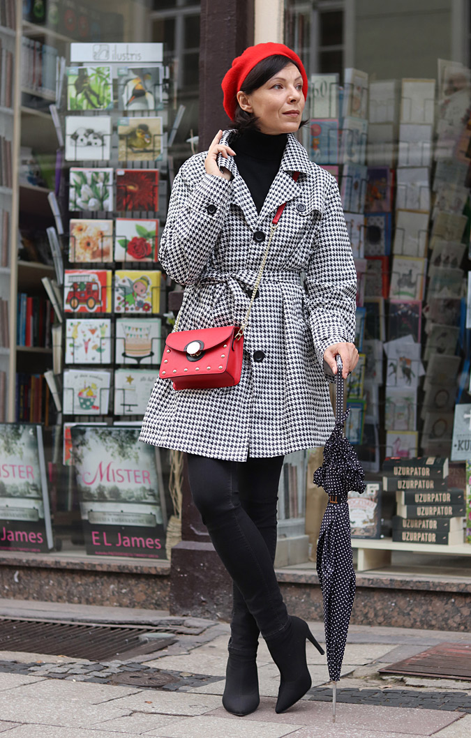 Paryski styl w modzie zdjęcia