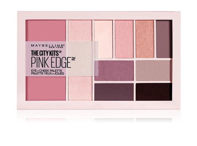 Мультифункциональная палетка для лица та глаз Maybelline The City Kits Pink Edge