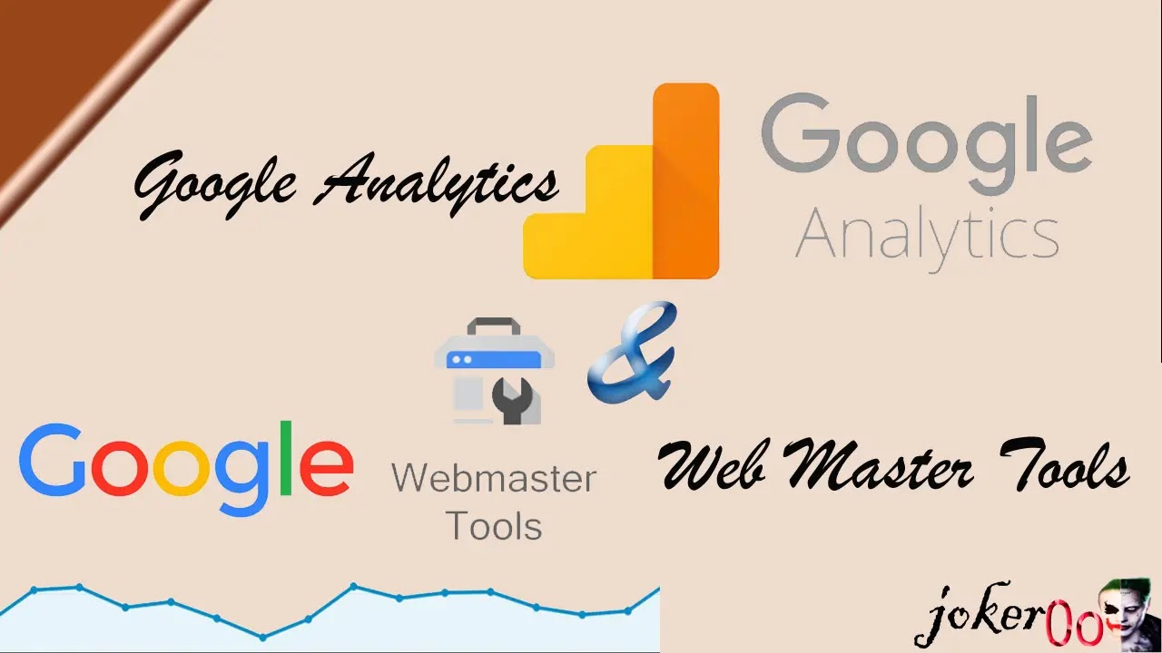 برامج الفهرسة Web Master Tools و Google Analytics