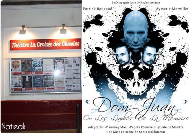 Dom Juan ou les limbes de la mémoire au théâtre la croisée du théâtre