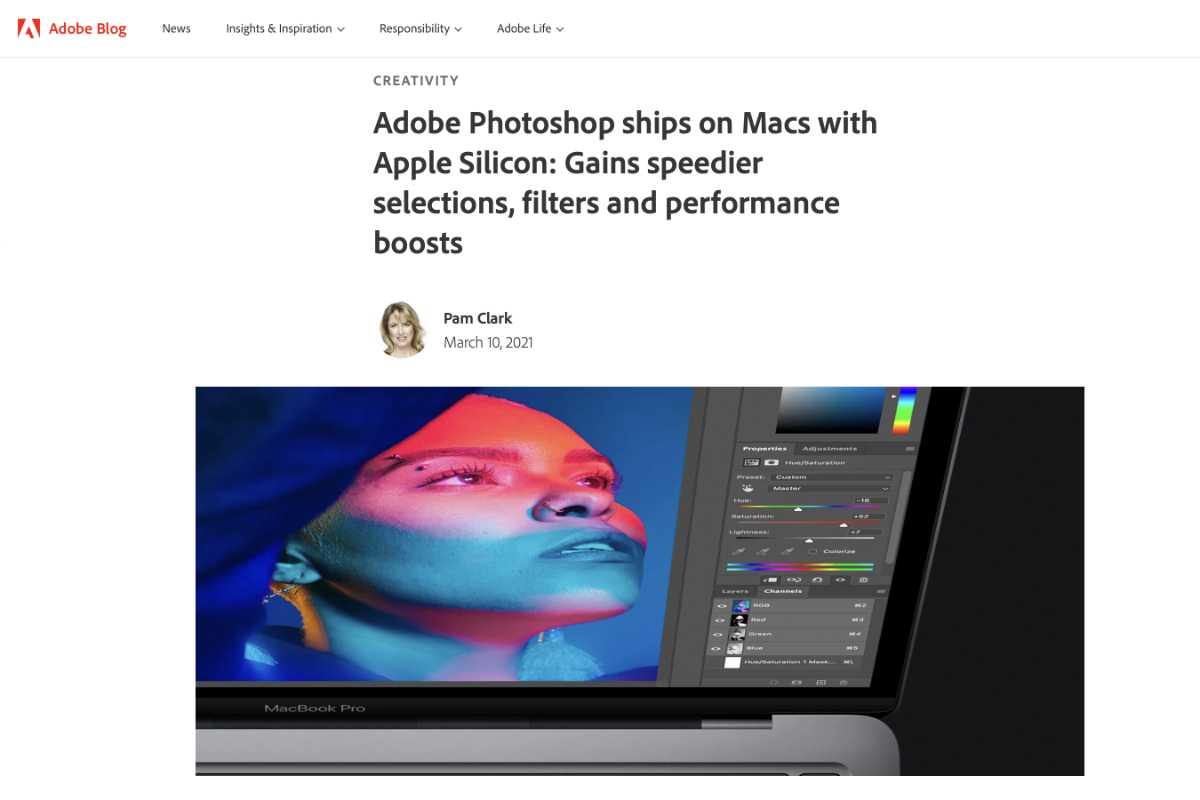 Photoshop è compatibile con Apple M1