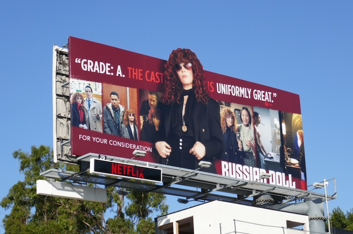 Russian Doll winter awards FYC billboard