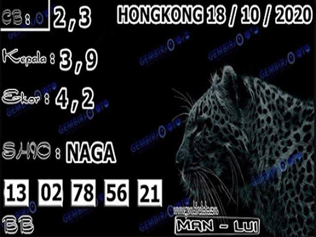 Kode syair Hongkong Minggu 18 Oktober 2020 197