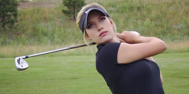 Foto Paige Spiranac, Paha, Atlet, Seksi