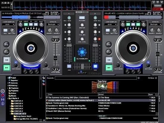 تحميل برنامج Virtual DJ Studio 8.1.2 استوديو كاملة يوفرجميع أدوات DJ القياسية