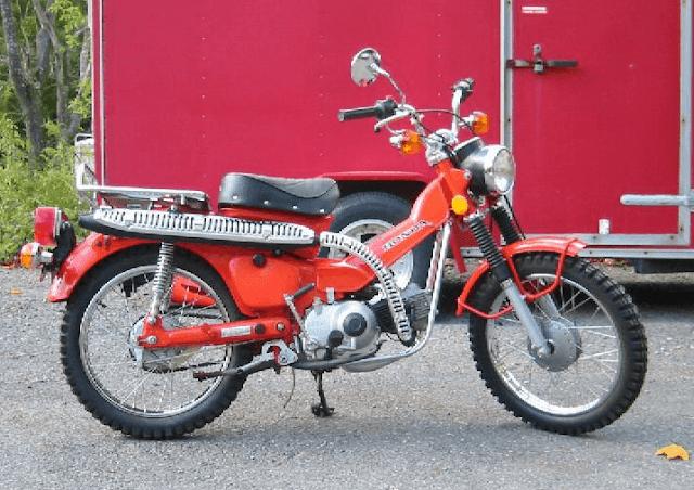 1977 Honda CT90