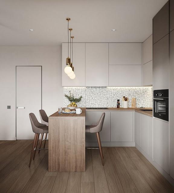 Những mẫu nội thất căn hộ chung cư hiện đại P2