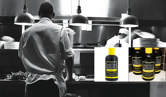 chef's Humm. Banish Odour. | Blonde Male