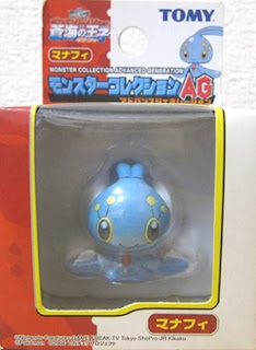 Manaphy Pokemon figure Tomy Monster Collection AG series