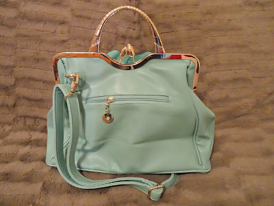 AVBER Womens Fashion Faux Leather Floral Handbag & Crossbody Bag