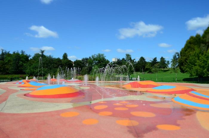 Jeux d'eau - Parc des Chanteraines
