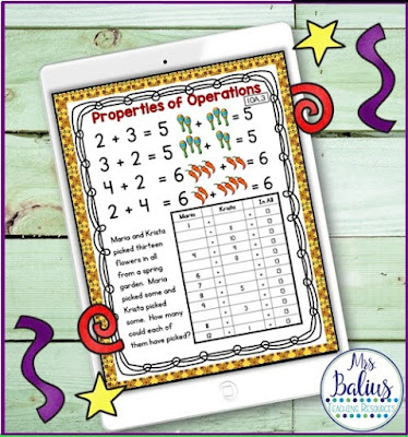 First Grade math with teaching tools