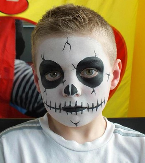 Ideas for Halloween Day Face Painting