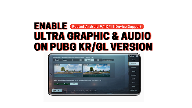 Unlock UltraHD Graphics and Audio in latest PUBG Mobile