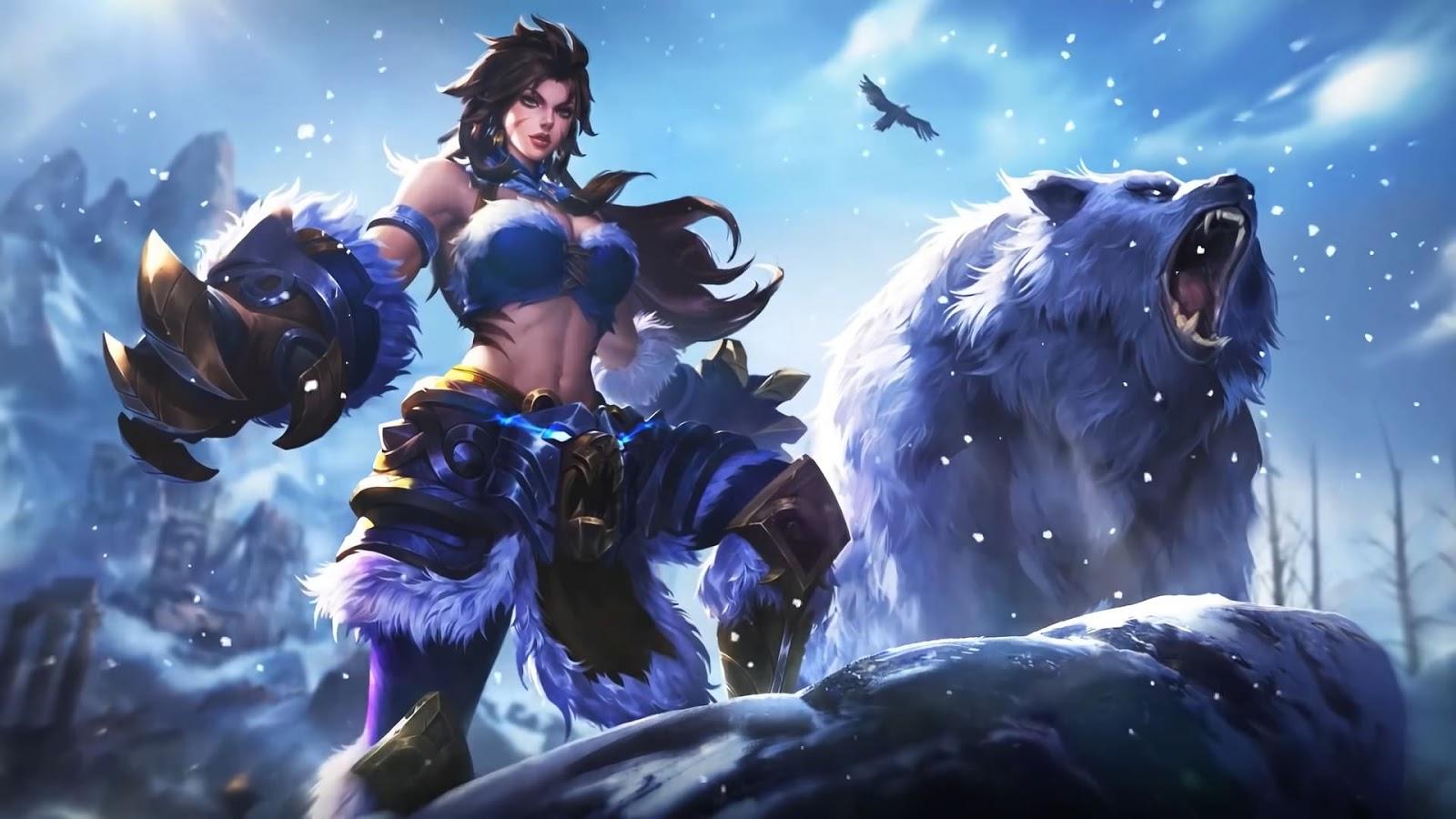 Wallpaper Masha Winter Guard Skin Mobile Legends HD for PC