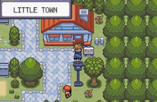Pokemon Crono para GBA Pueblo Inicial Little Town