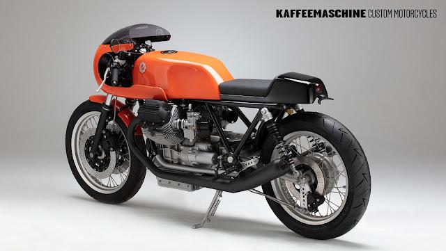 Moto Guzzi Le Mans III By Kaffee Maschine Hell Kustom