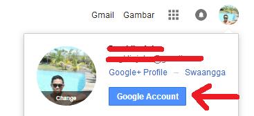 cara mengganti nomor handphone di google mail gmail