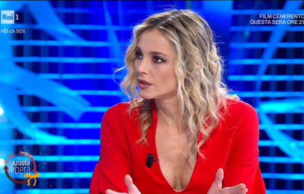Francesca Fialdini scuardo serio
