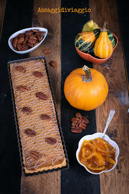 Butternut Bakewell Bars