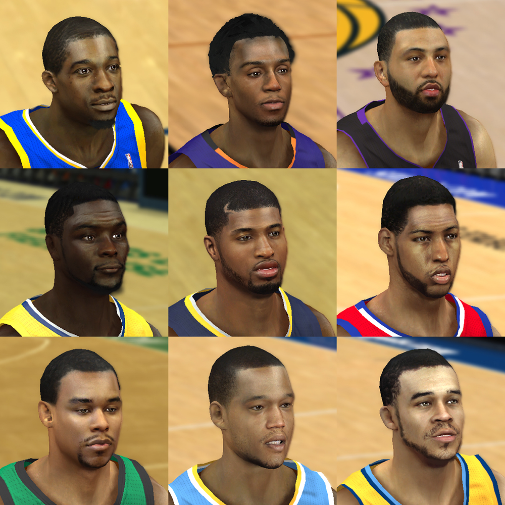 NBA 2K14 Mod Face Update Pack #4