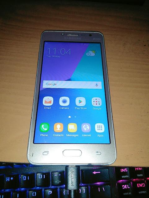 Cara ByPass Senam Jari FRP Samsung J2 Prime