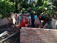 Pra TMMD Ke-105 Kodim 0209/LB Laksanakan Penimbunan Tanah Di RLTH