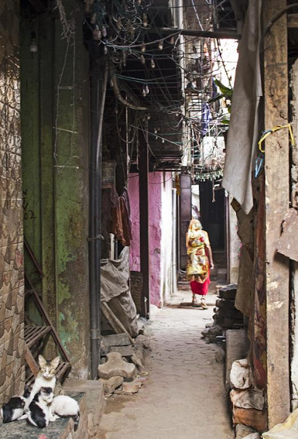 narrow, alleyway, kumbharwada, dharavi, mumbai, india, street, street photo, street photography, nameless street,