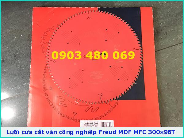 Lưỡi cưa cắt ván công nghiệp MDF MFC Freud ITALIA 300x96T