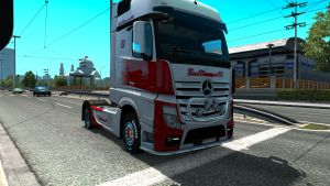 Sovtransavto skins for Mercedes trucks