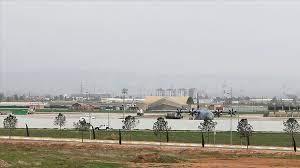military base hosting US-led coalition forces inside Erbil International Airport
